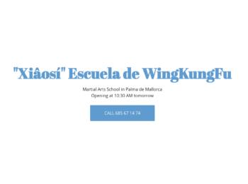"""""""Xiâosí"""" Escuela de WingKungFu"""